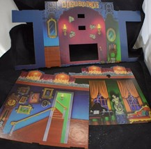 13 Dead End Drive Milton Bradley Board Game Parts Cardboard Walls - $9.79