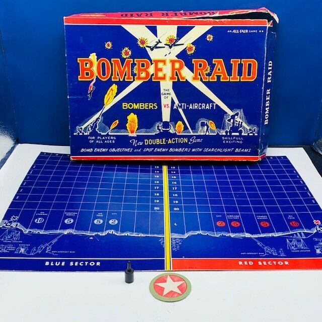 Primary image for Bomber Raid vtg board game 1943 Fairchild toy soldier WW2 WWII military All Fair