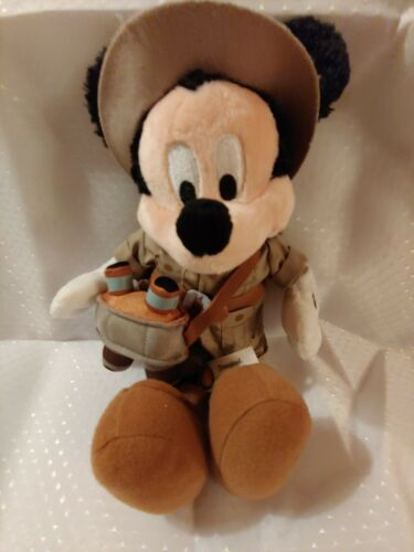 Primary image for Disney Plush Mickey Mouse Hiker Binoculars Special Edition Disney World Retired