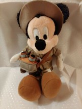 Disney Plush Mickey Mouse Hiker Binoculars Special Edition Disney World ... - $16.78