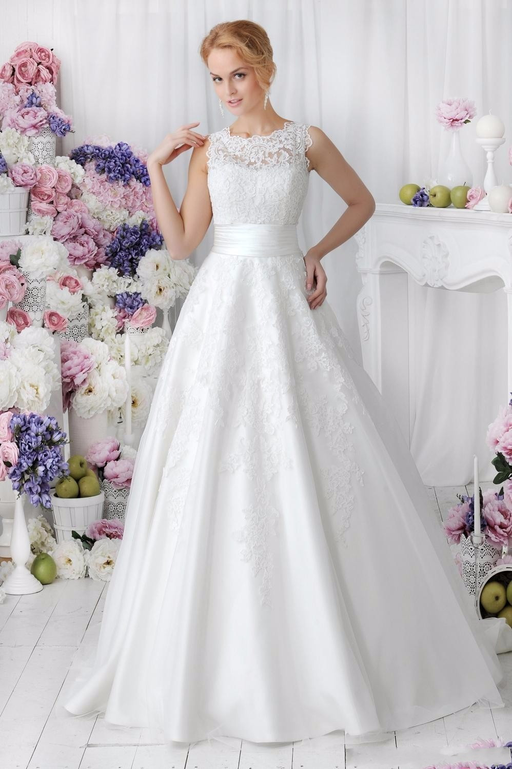Lace Wedding Dress With Detachable Skirt at Bling Brides Bouquet online bridal s image 3