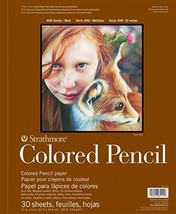 """Strathmore 400 Series Colored Pencil Pad, 18""""x24"""" Wire Bound, 30 Sheets - $31.34"""