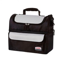 New THERMOS Soft Lunch Lugger Insulated Dual Compartments Bag Carry Picnic - €17,75 EUR