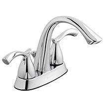 Glacier Bay Edgewood 4 in. Centerset 2-Handle High-Arc Bathroom Faucet in Chrome - $65.66
