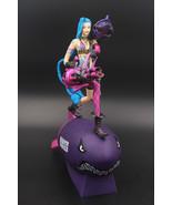 LOL Jinx Action Figure League Of Legends Marksman ADC Statue New Anime M... - $80.40