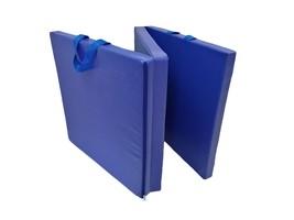 6' Exercise Tri-Fold Gym Mat For Gymnastics Aerobics Yoga Martial Arts D... - $768,47 MXN