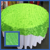 Table Overlay Wedding Party Supplies Lime Leaf ... - $14.03