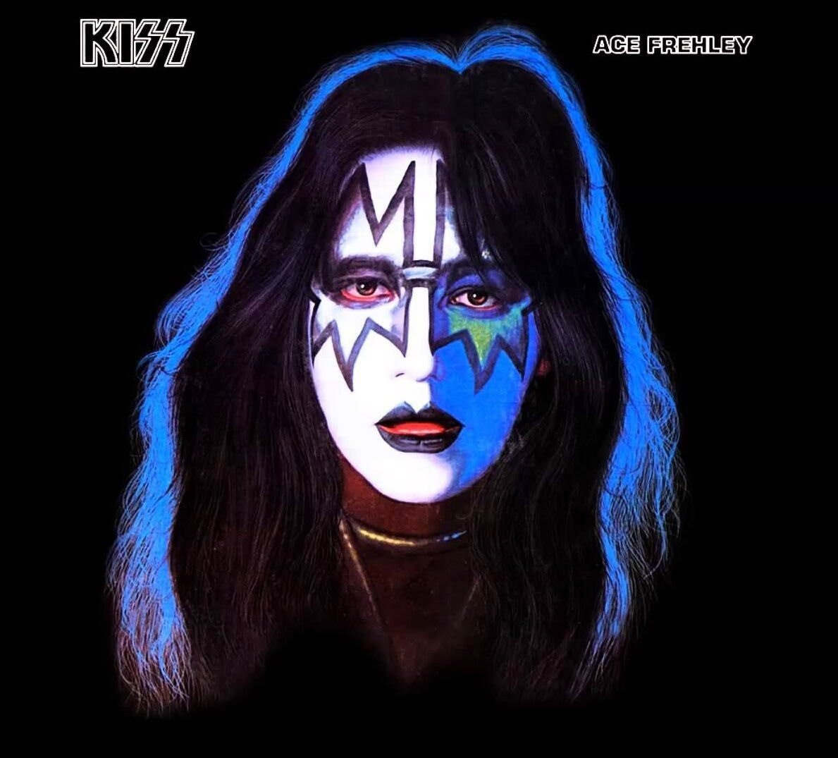 Primary image for KISS ACE FREHLEY SOLO ALBUM COVER POSTER 24 X 24 Inches FANTASTIC!!
