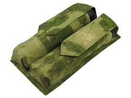 MOLLE Tactical Pouch for Two Tubes at 140-160 Balls Waterproof (A-tacs FG) - $51.08