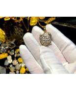 "BOLIVIA 1 REAL DATED 1743 ""DATED"" 14KT BEZEL PENDANT TRESAURE JEWELRY NE... - $3,950.00"
