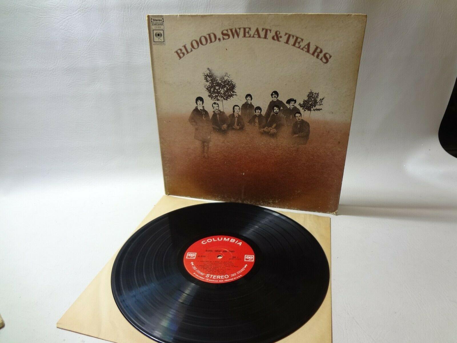 """BLOOD SWEAT AND TEARS """"BLOOD SWEAT AND TEARS"""" LP RECORD CS 9720 VINYL"""