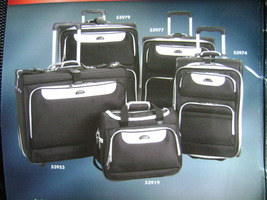 "DELSEY AIR TUXEDO PLATINUM EXPANDABLE LUGGAGE SET/3 WHEELED 25"", 21"" & T... - $339.90"