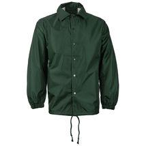 Renegade Men's Lightweight Water Resistant Button Up Windbreaker Coach Jacket image 6