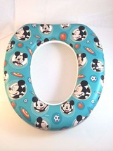 Disney Potty Seat Toddler Training Mickey Mouse Sports Soccer Basketball... - $14.95