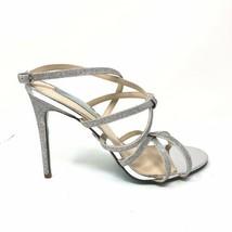 Blue By Betsey Johnson Womens Size 10 Myla Glitter Strappy Sandal Weddin... - $46.74