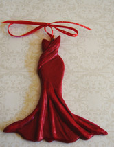 Red Dress Ornaments, Wall Hangings, Collectables - $10.00