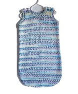 Baby sleeper, baby cocoon, baby sleeping bag, pram suit, Fair Isle effect, acryl - $36.00