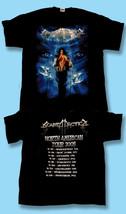 "SONATA ARCTICA - 2005 ""RECKONING NIGHT"" N.AMERICAN CONCERT TOUR T-SHIRT ... - $9.87"
