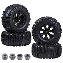 "Hobbypark 2.8"" Tires OD 6.3"" +Wheels Rims 7 Spokes Foam Inserts 12mm Hex... - $51.95"