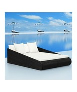 Outdoor Poly Rattan Sunbed Garden Patio Sun Lounger Pool Seat Seater Bed... - $439.33