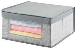 MDesign Fabric Baby Nursery Closet Organizer Bo... - $15.49