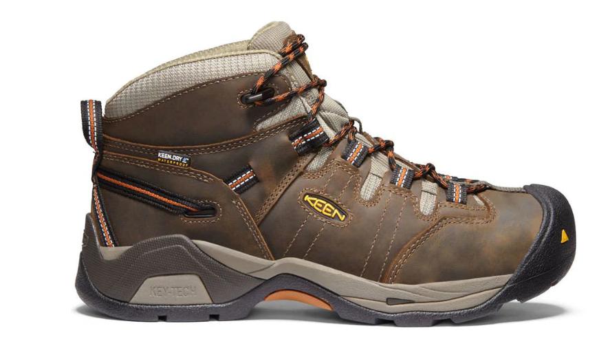 Keen Detroit XT Taille US 10.5 M (D) Eu 44 Homme Wp Souple Orteil Travail Shoes image 3