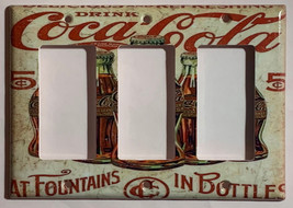 5 Cents Coke Bottles Old Poster Light Switch Outlet Wall Cover Plate Home Decor image 12