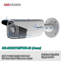 Hikvision DS-2CD2T35FWD-I5 4MM 3MP H.265 Ultra-Low Light 50M IR Bullet C... - $133.65