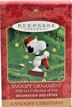 Hallmark Keepsake Ornaments Snoopy Ornament Fifth In A Collection Of Five - $8.90