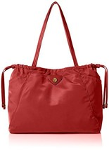 Anne Klein Wander Med Aly Nylon Tote, She/She Red, One size - $73.53