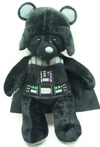 "Build-A-Bear Star Wars BEAR AS DARTH VADER 18"" Plush STUFFED ANIMAL TOY - $24.74"