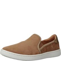 UGG Women's Cas Medium Brown Suede Leather Sneakers 11M - $72.99