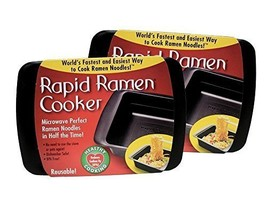 Rapid Ramen Cooker - Microwave Instant Ramen Noodles in 3 Minutes Pack o... - £20.36 GBP