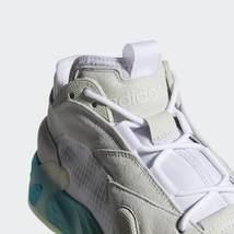 Adidas Originali Streetball Scarpe Bianco/Acquamarina Scarpe Sportive image 4