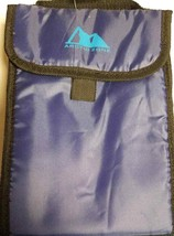 Arctic Zone Insulated Lunch Bag Easy Clean Lining Color Blue (LOC TUB L-38) - $18.69