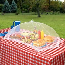 GIANT OUTDOOR FOOD PROTECTION COVER TENT GRILLING PATIO PICNIC BBQ CAMPING - $22.00