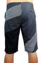NEW DC SHOES MEN'S CLASSIC BOARD SHORTS SURF TRUNKS SWIMWEAR 4 WAY STRETCH GRAY image 4