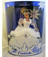 CINDERELLA BARBIE DOLL 1ST IN SERIES WALT DISNEY HOLIDAY PRINCESS Mattel... - $19.79