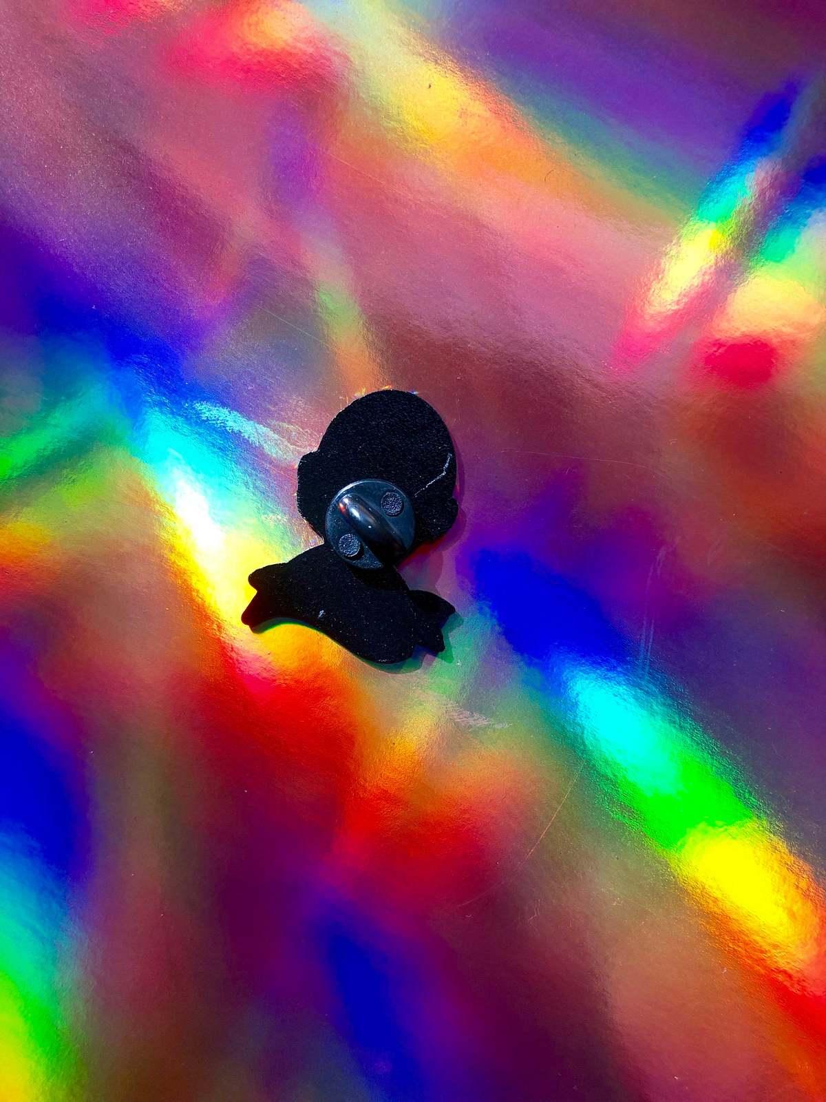I dissent enamel pin / female empowerment pin / ruth ginsburg /ruth ginsburg pin image 4