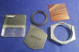 COKIN Cromofilter SA A198 Camera Lens Filter w Case w Extras - $14.35