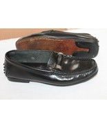 AUTHENTIC TOD'S SIZE 5 1/2 LEATHER CLASSIC $395 LOAFERS SHOES - $58.41