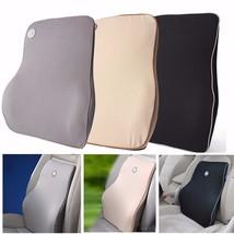 Lumbar Back Support Waist Cushion Pillow Memory... - $41.83