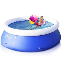 Global Supplies GS-9824 8 ft x 30 inch Giant Inflatable Ground Swimming ... - $65.33