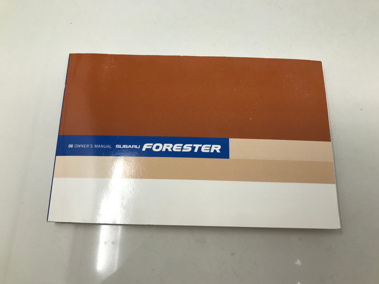 2006 Subaru Forester Owners Manual book Z0I14