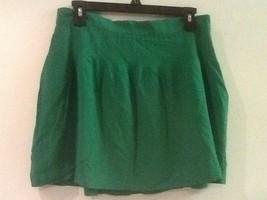 Gap Bright Vibrant Kelly Green - 100% Rayon - Pintucked Waist Skirt - Si... - $18.95