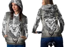 Baphomet Hail Satanic Hoodie Women - $44.99