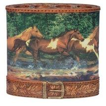 Blonder Home Spring Creek Run Wild Horse Toothbrush Holder - $15.90