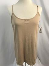 Attention Hautfarben Nahtlos Unterhemd, Damen Größe L/XL, Nwt - $6.96