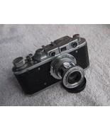 Rare Zorki 1 VINTAGE USSR Copy Leica Film Camera Industar 22 Lens - $70.91