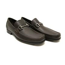 J-3618324 New Salvatore Ferragamo Black Pebble Loafers Shoes Size 9.5 D - $474.99